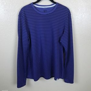Patagonia Blue Striped Long Sleeve Top Size XL